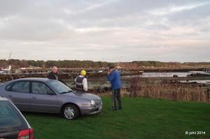 Lågvatten 24 november - klicka för förstoring.