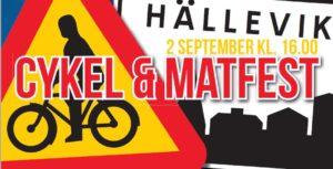 Cykel & Matfest 2 sept 16.00