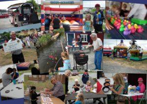 Barnens nationaldag firade vi vid Fiskemuseet den 6 juni.