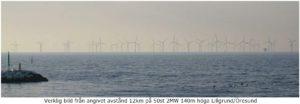 Ny vy från Hällevik när Taggens vindkraftpark är byggd