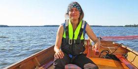 """""""Ahwen"""" – min träbåt bar mig över haven"""