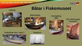 Båtarna i Fiskemuseet