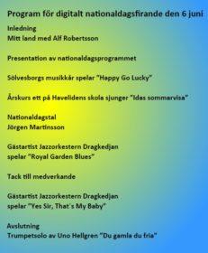 Program för nationaldagsfilmen